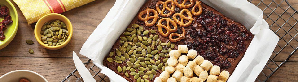 Hack the Mix: Pumpkin Spice Fudge Brownies