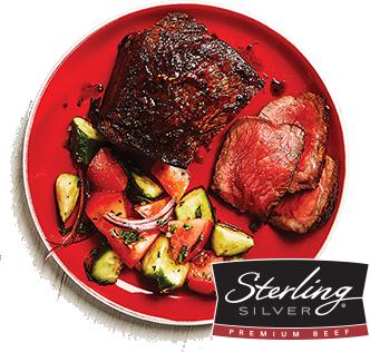Sterling Silver® Top Sirloin Medallion